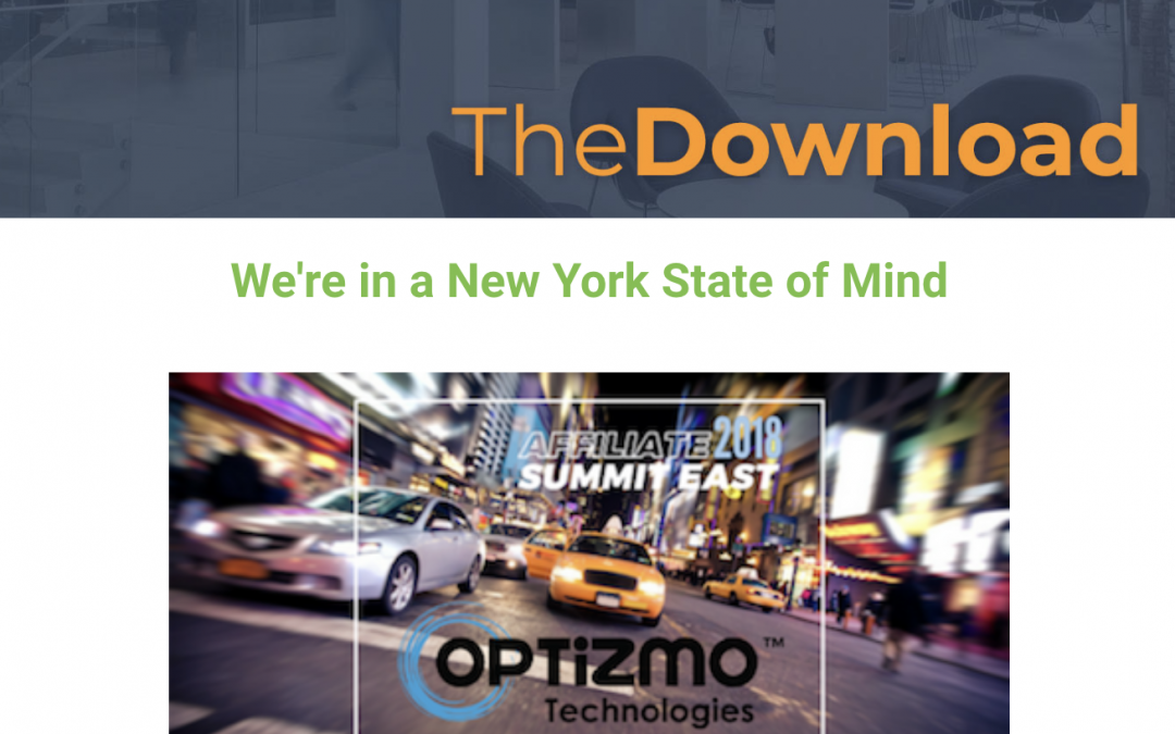 July 2018 Newsletter – A New York State of Mind