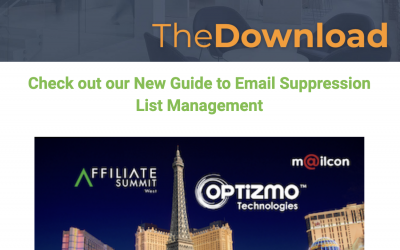 OPTIZMO – December 2018 Newsletter – Guide to Email Suppression List Management