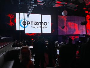 OPTIZMO Logo at Affiliate Ball